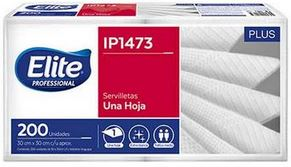 Servilletas Elite Plus 30 X 30 Cm X 200/9 (6531/ip1473)