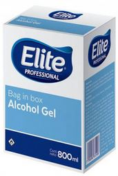 Alcohol En Gel 12 X 800 Cc. (elite) (8281/81087)
