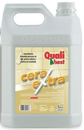 Cera Autobrillo Natural X 5 Lts. (qualibest)