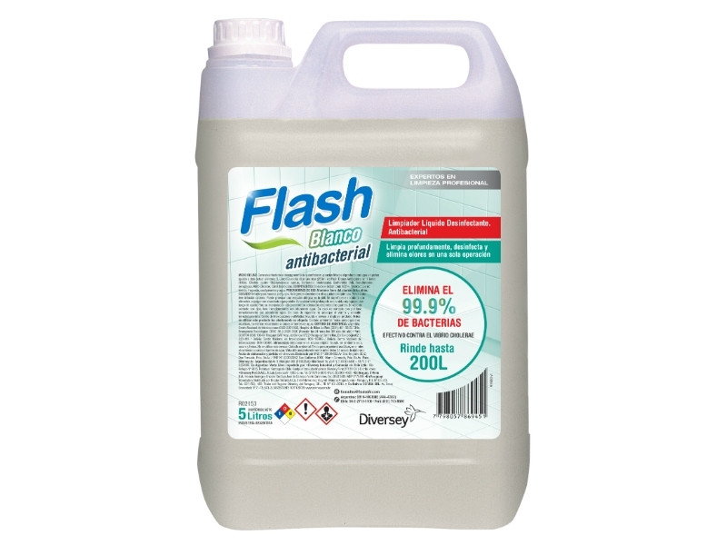 Flash Blanco Antibacterial X 5 Lts (diversey)