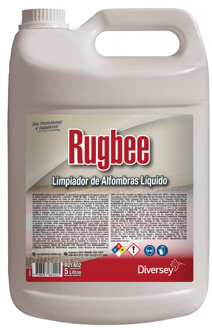 Rugbee X 5 Lts (diversey)