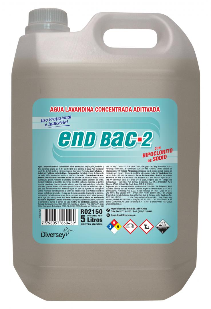 End Bac Ii X 5 Lts  (diversey)