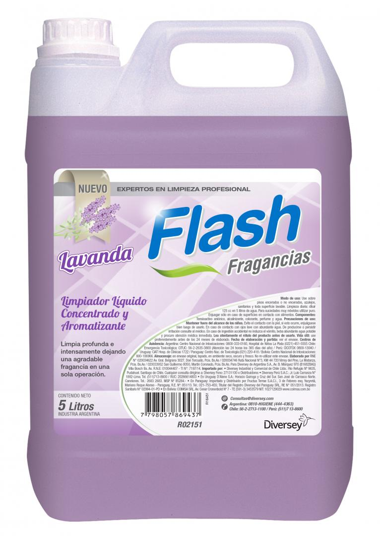 Flash Fragancia Lavanda X 5 Lts (diversey)