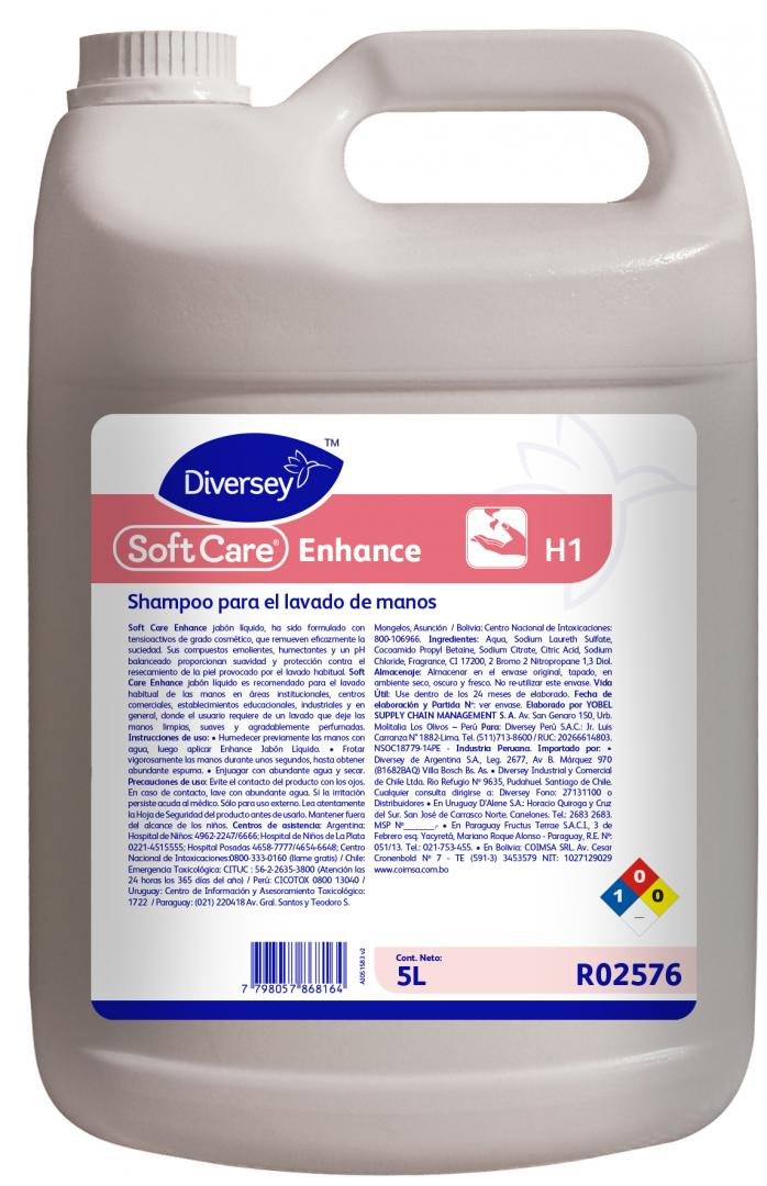 Softcare Enhance X 5 Lts (diversey)