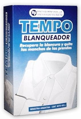 Tempo Blanqueador X 1.800 Grs (tipo Vanish)